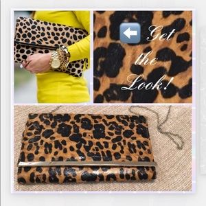 ❗️ leopard clutches hand  purse❗️